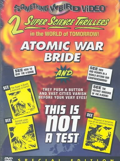 ATOMIC WAR BRIDE/THIS IS NOT A TEST BY BULAJIC,VELIKO (DVD)