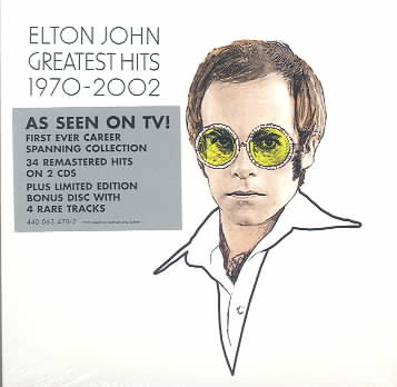 GREATEST HITS 1970-2002 BY JOHN,ELTON (CD)