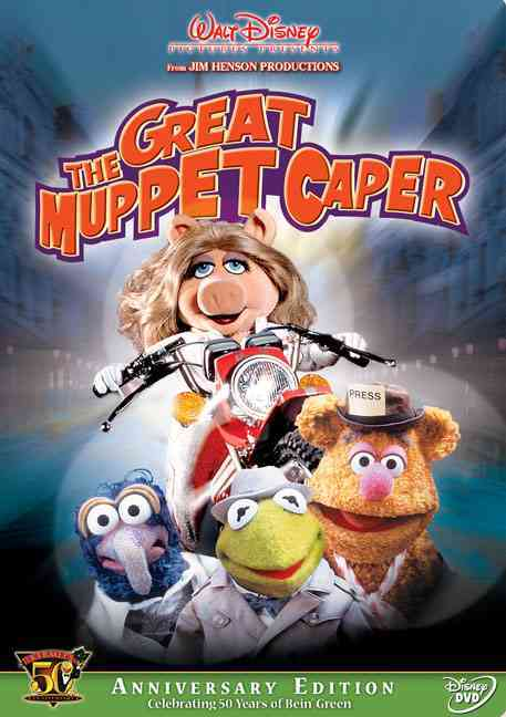 GREAT MUPPET CAPER BY HENSON,JIM (DVD)