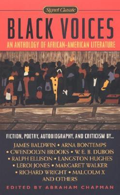 Black Voices By Chapman, Abraham (EDT)